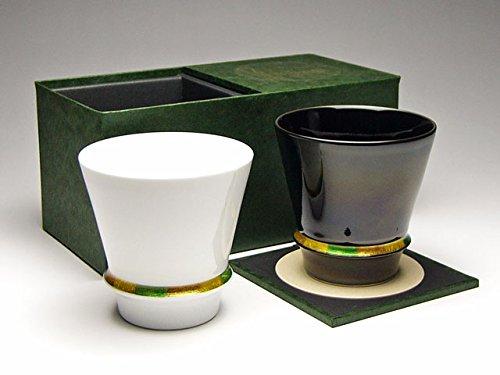 至高の焼酎グラス ハッピーリング(白)(黒)