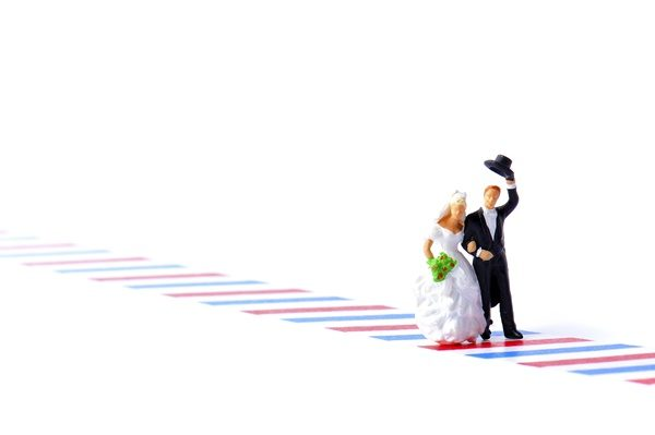 幸せな結婚をした二人 40代女性 婚活