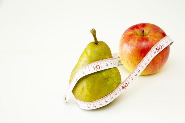 りんごと洋梨と巻尺 隠れ肥満
