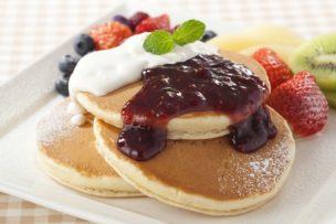 パンケーキ 肌 糖化