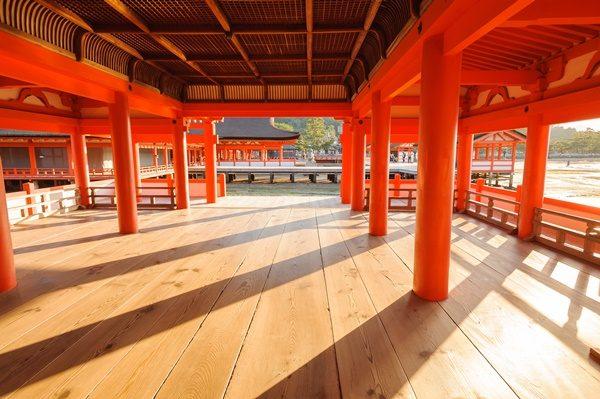 厳島神社回廊 パワースポット 8