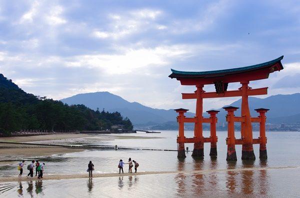 日本 神社 厳島 パワースポット