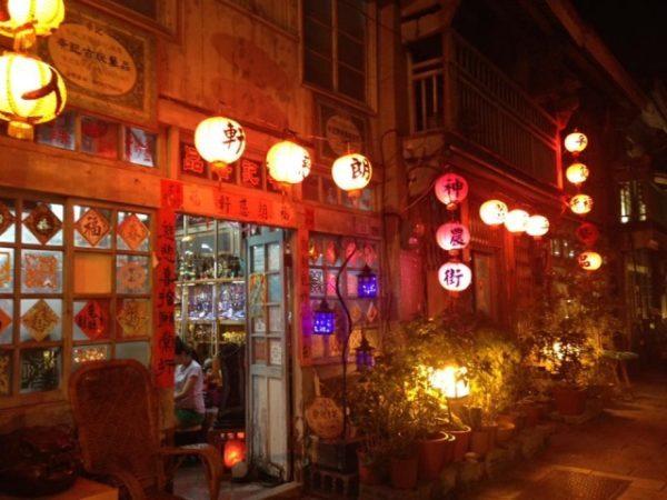 台湾 神農街