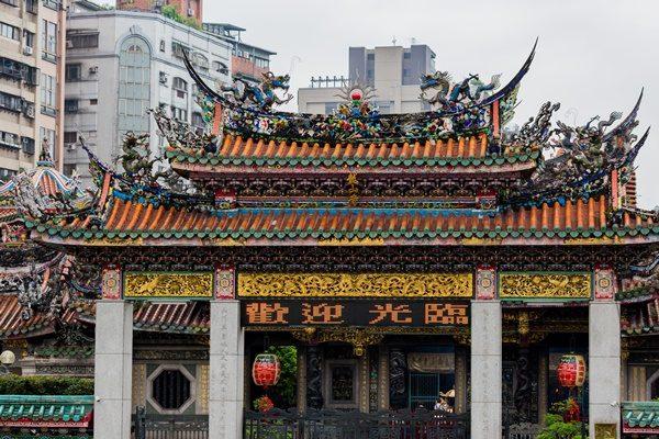 龍山寺 台湾