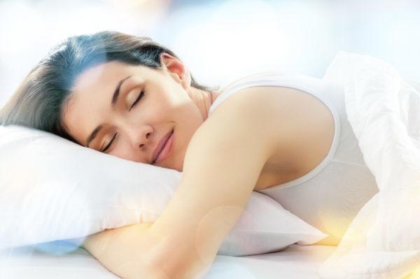 睡眠 女性 きれい