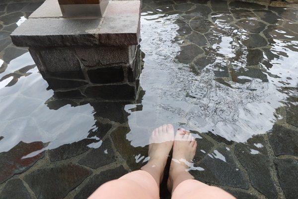熱海の足湯