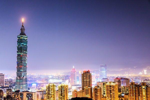 台北101 夜景イメージ