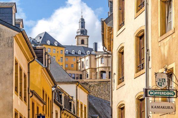 ルクセンブルク旧市街地