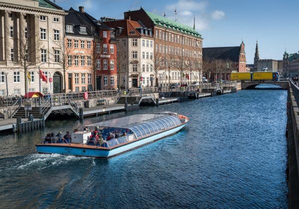 コペンハーゲン 運河観光クルーズ