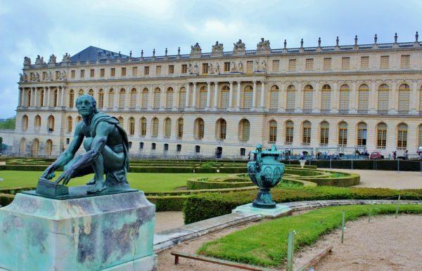 世界遺産登録されたヴェルサイユ宮殿
