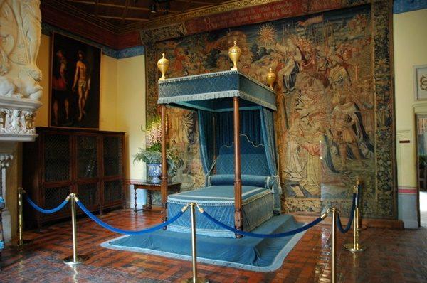 ディアーヌ・ド・ポアティエの寝室