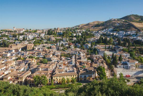 世界遺産登録されたアルバイシン地区