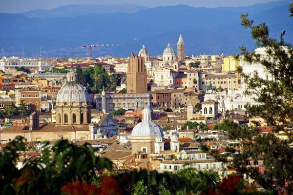 古都ローマの美しい街並み