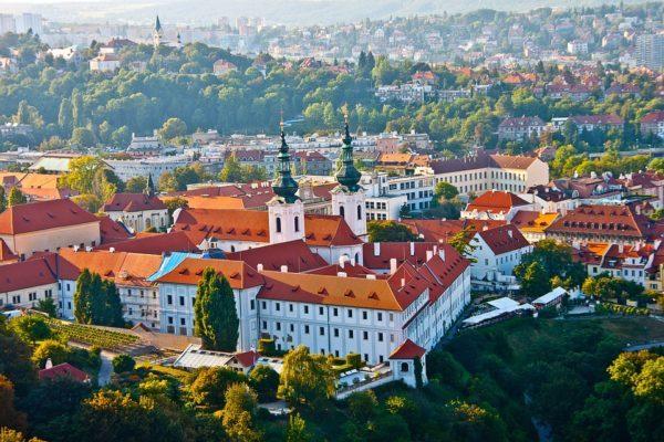プラハ城・小地区周辺