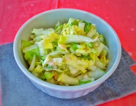 常備菜白菜サラダ